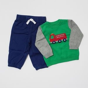 6-9m 2pc Baby Boy Outfit - The Children's Place -